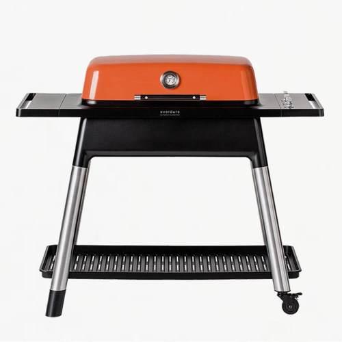everdure furnace gas bbq orange