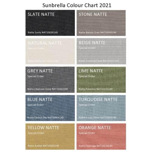 divano 2021 colour chart