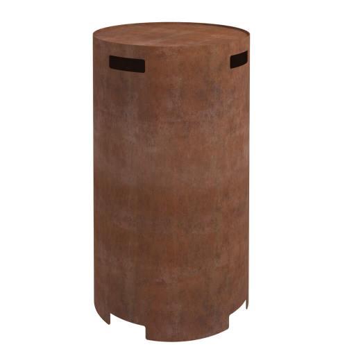 planika corten steel gas cylinder cover