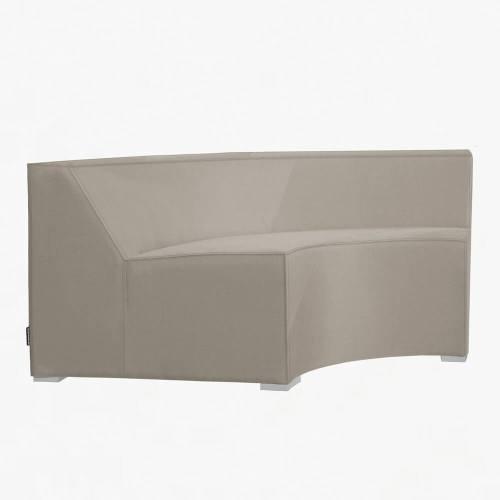 westminster sahara curved corner seat stone