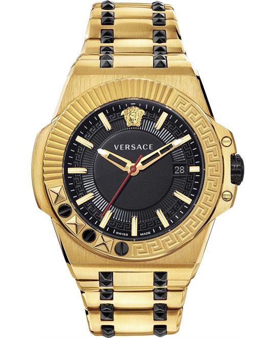 đồng hồ Versace Chain Reaction Watch 45mm