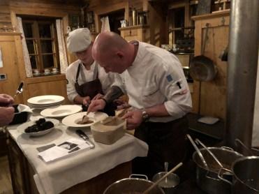 Sternekoch Chris Oberhammer kochte beim Grand Opening