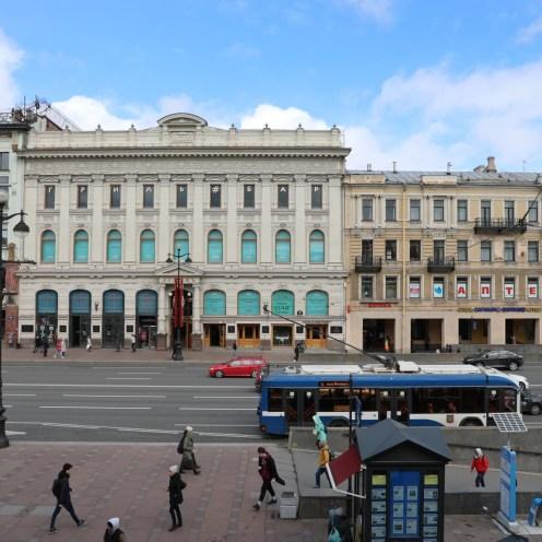 Blick auf den Newskij Prospekt