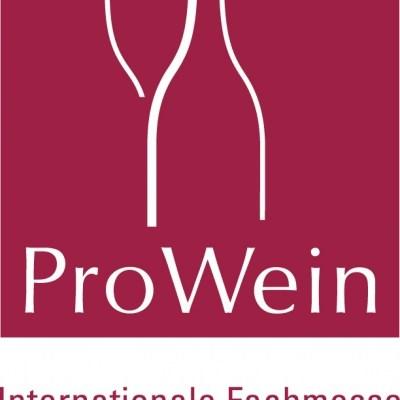 Logo der Genussmesse ProWein in Düsseldorf