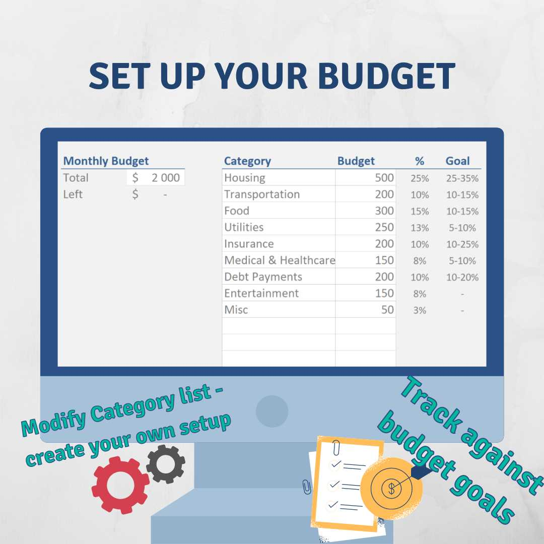 What is a monthly expense report template? Personal Budget Spreadsheet Expense Tracker Luxtemplates