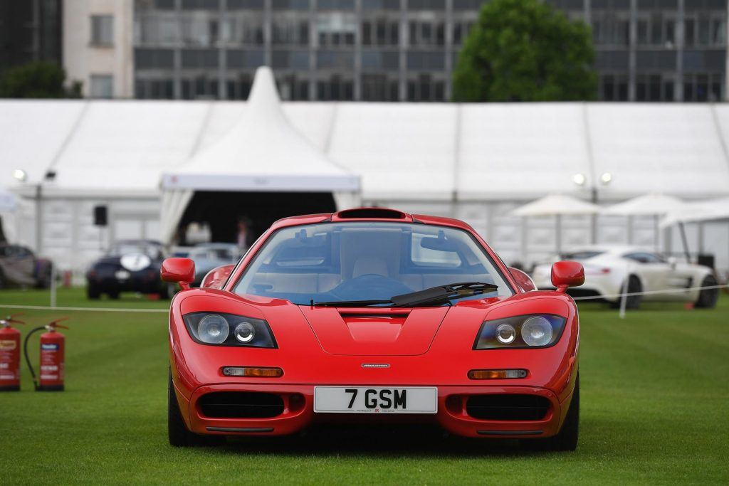 mark captain luxuriate 1990 McLaren F1