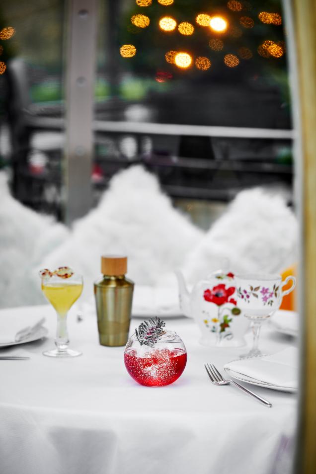 Paris on Park Lane – Forbidden fruit, new cocktails and a winter garden at The Dorchester