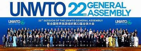 22nd UNWTO General Assembly in Chengdu, China