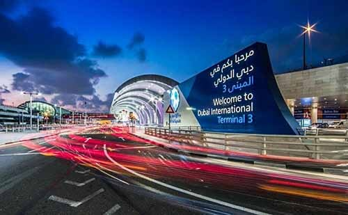 Dubai Airports - Luxuria Tours & Events