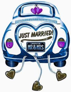 Just Married - Luxuria Tours & Events
