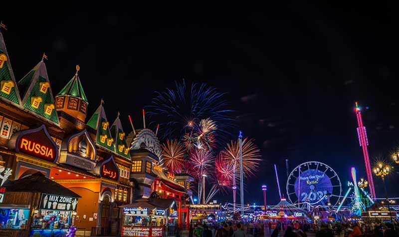 New Year at Global Village - Luxuria Tours & Events