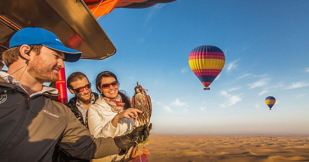 Hot Air Balloon 4 - Luxuria Tours