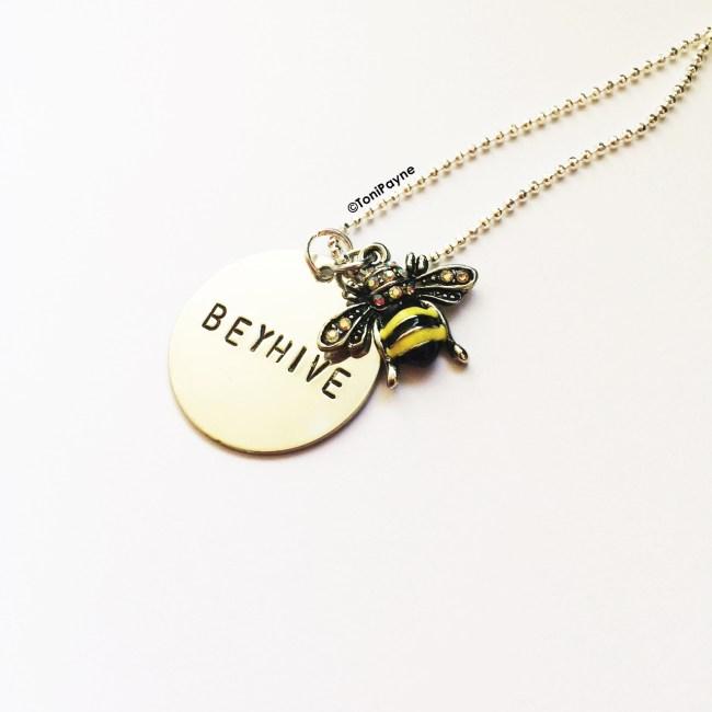 Beyhive Handstamp Custom Jewelry