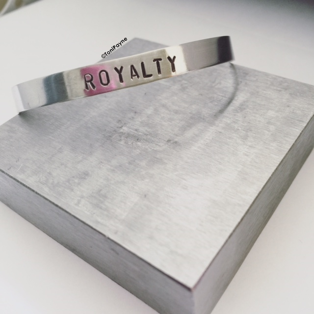 Custom Royalty Cuff Bracelet without Swarovski