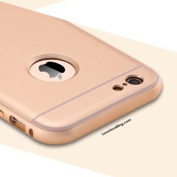 Gold Bevel Frame iphone case