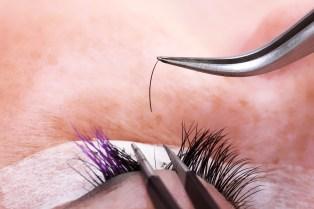 Lash maker build up long artificial eyelashes