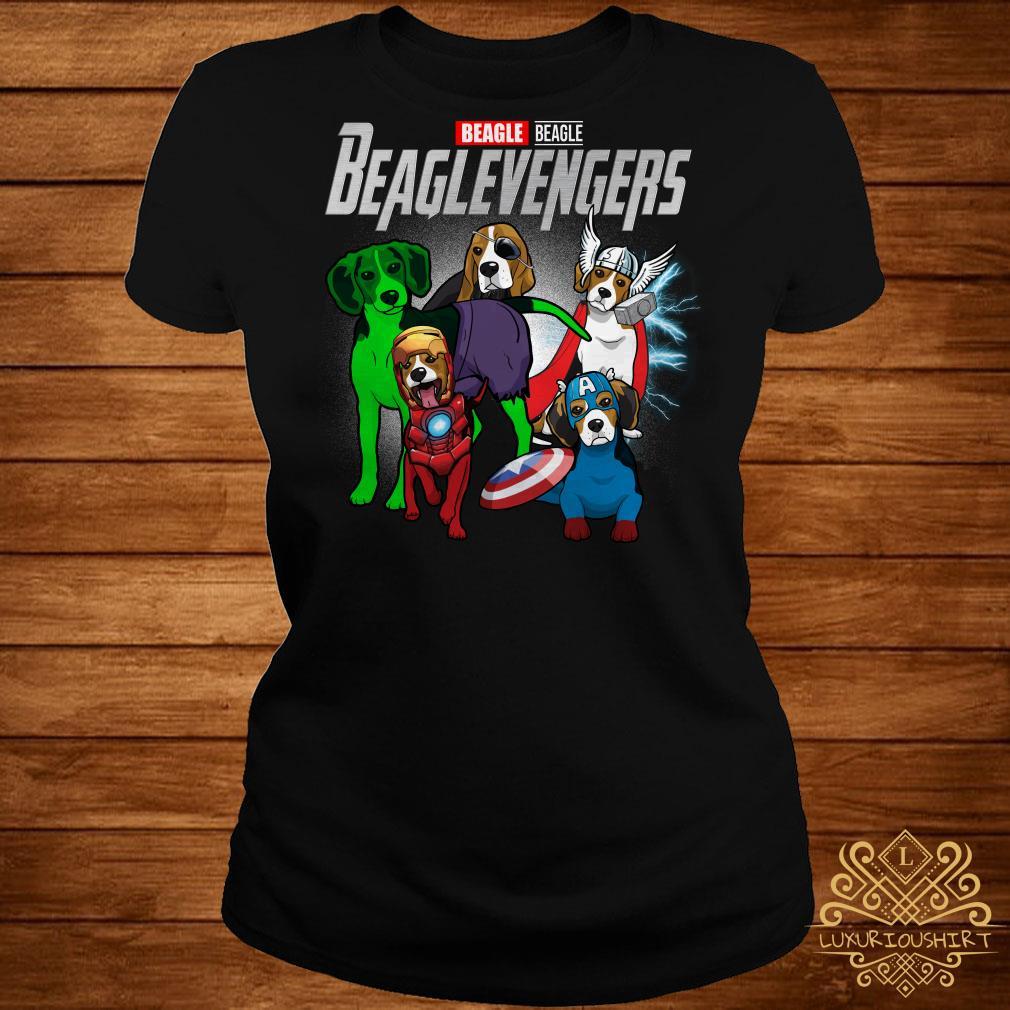 Beaglevengers Beagle version ladies tee
