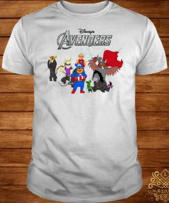 Disney Avengers Winnie the Pooh style shirt
