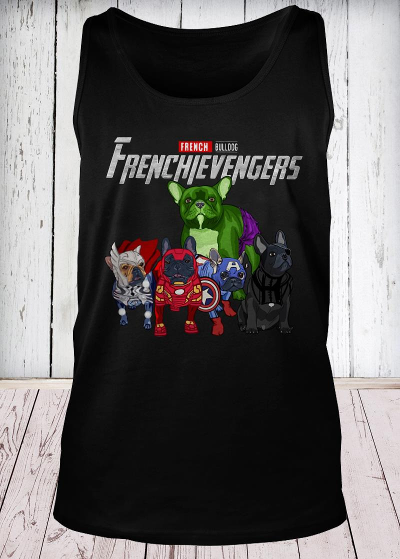 Frenchievengers French Bulldog tank-top