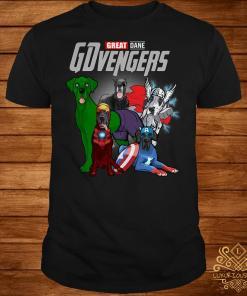 GDvengers Great Dane Avengers Endgame shirt