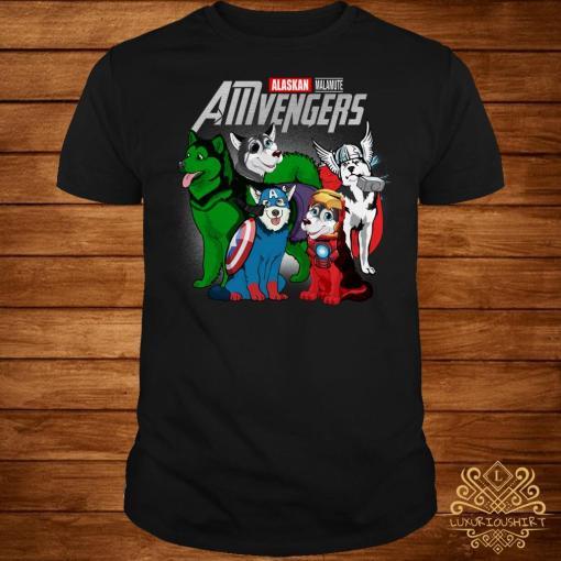 Marvel Alaskan AMvengers shirt