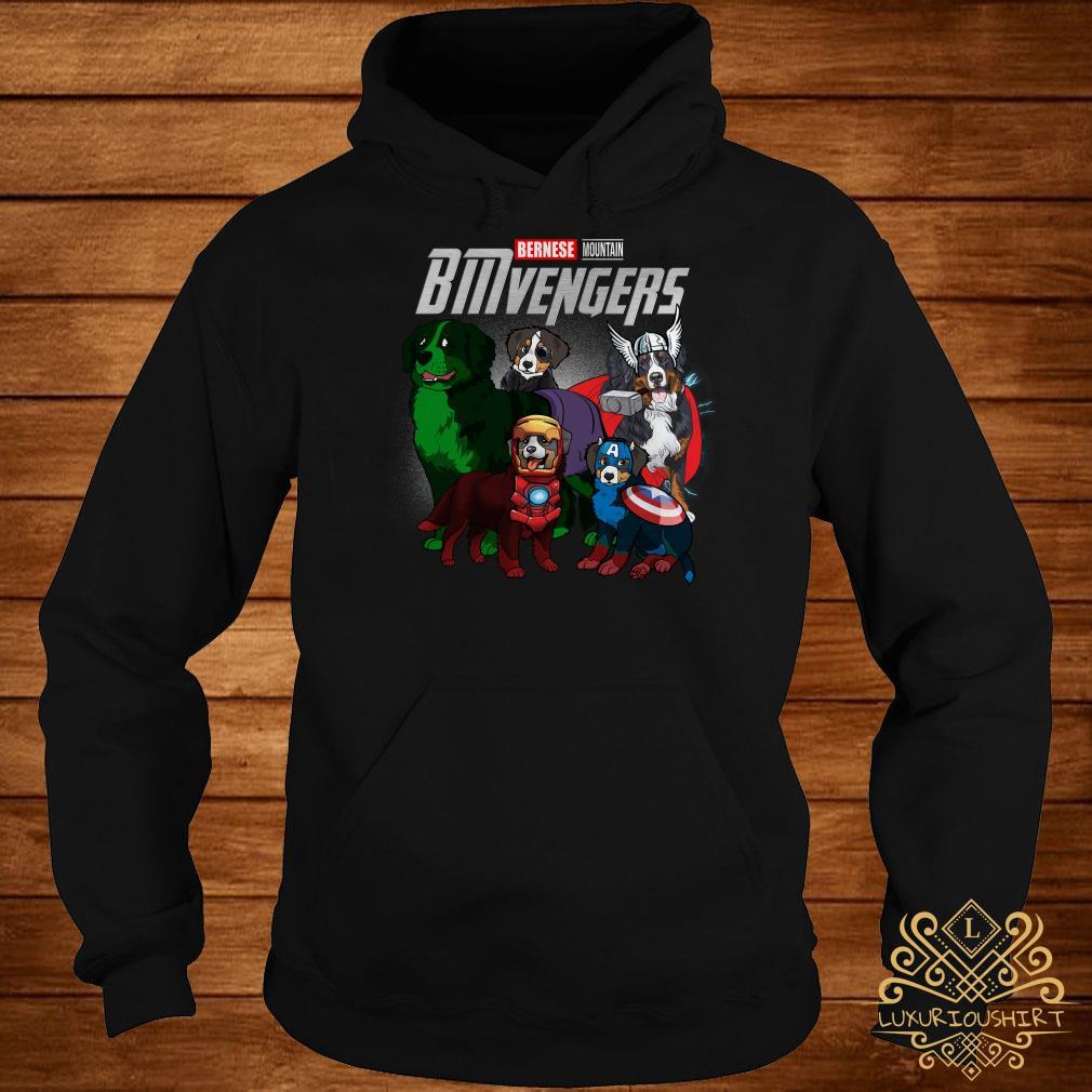 Marvel Avengers Bernese Mountain BMvengers hoodie