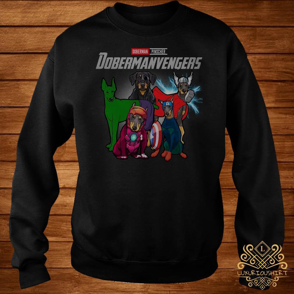 Marvel Avengers Doberman Pinscher Dobermanvengers sweater