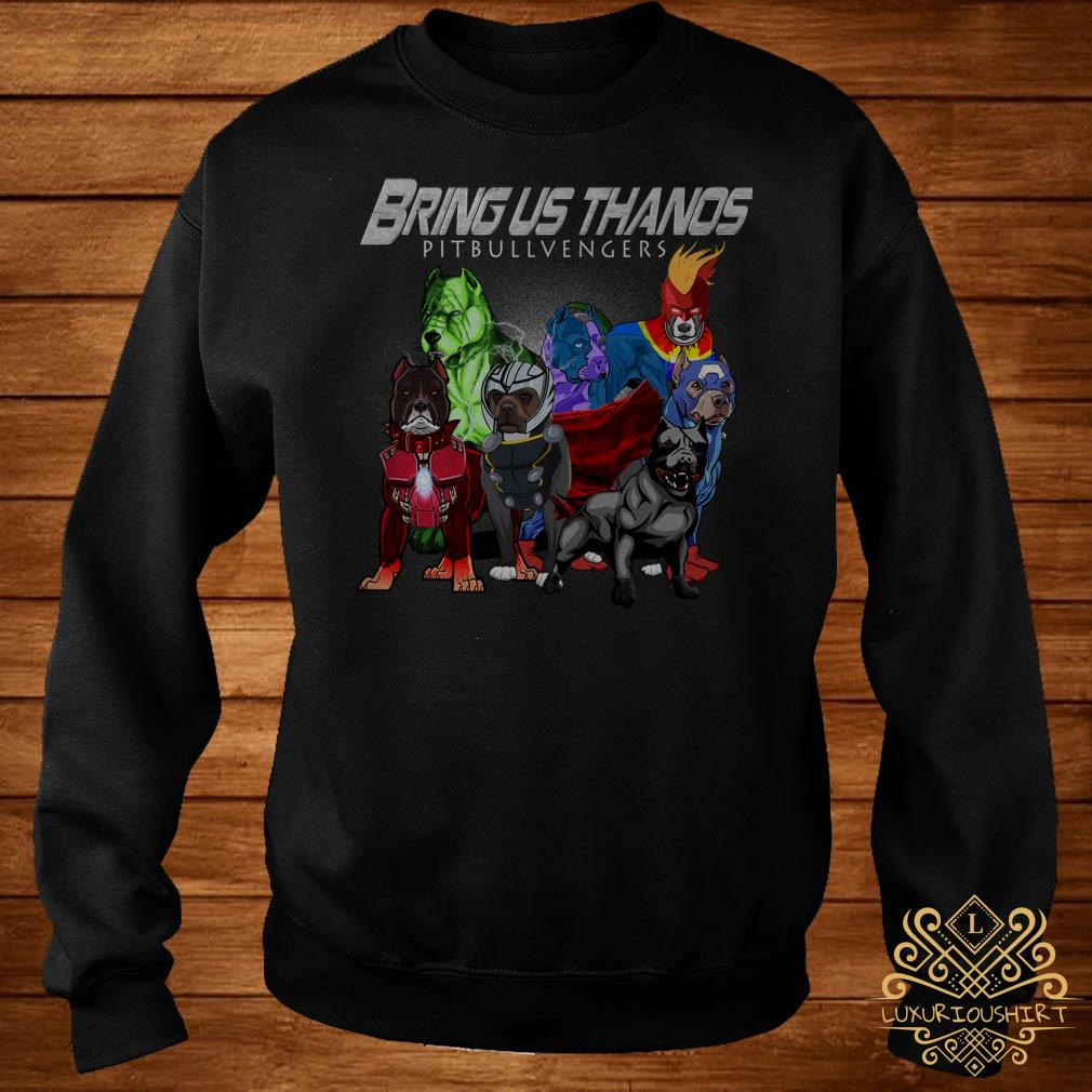 Marvel Avengers Endgame Bringus Thanos Pitbull Avengers sweater
