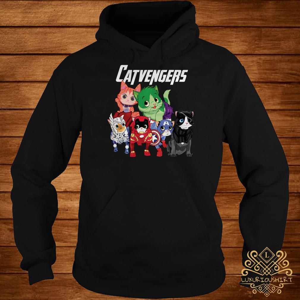 Marvel Avengers Endgame Catvengers hoodie