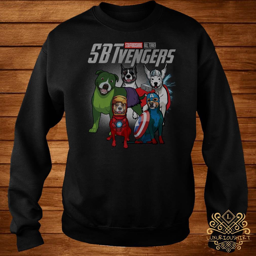 Marvel Avengers Staffordshire Bull Terrier SBTvengers sweater