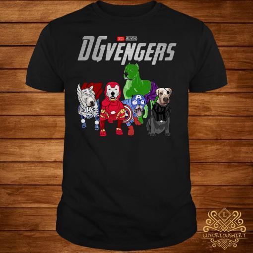 Marvel Dogo Argentino DGvengers shirt