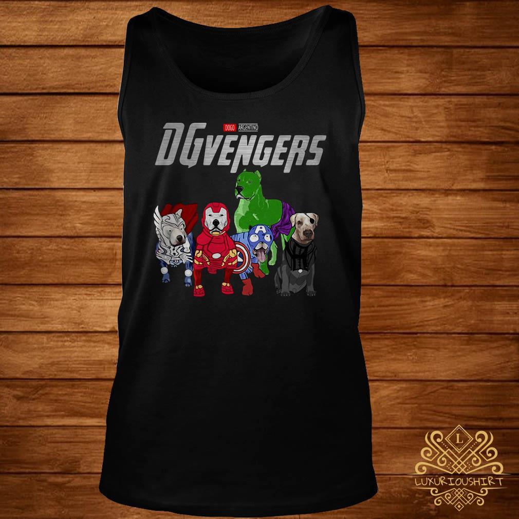 Marvel Dogo Argentino DGvengers tank-top