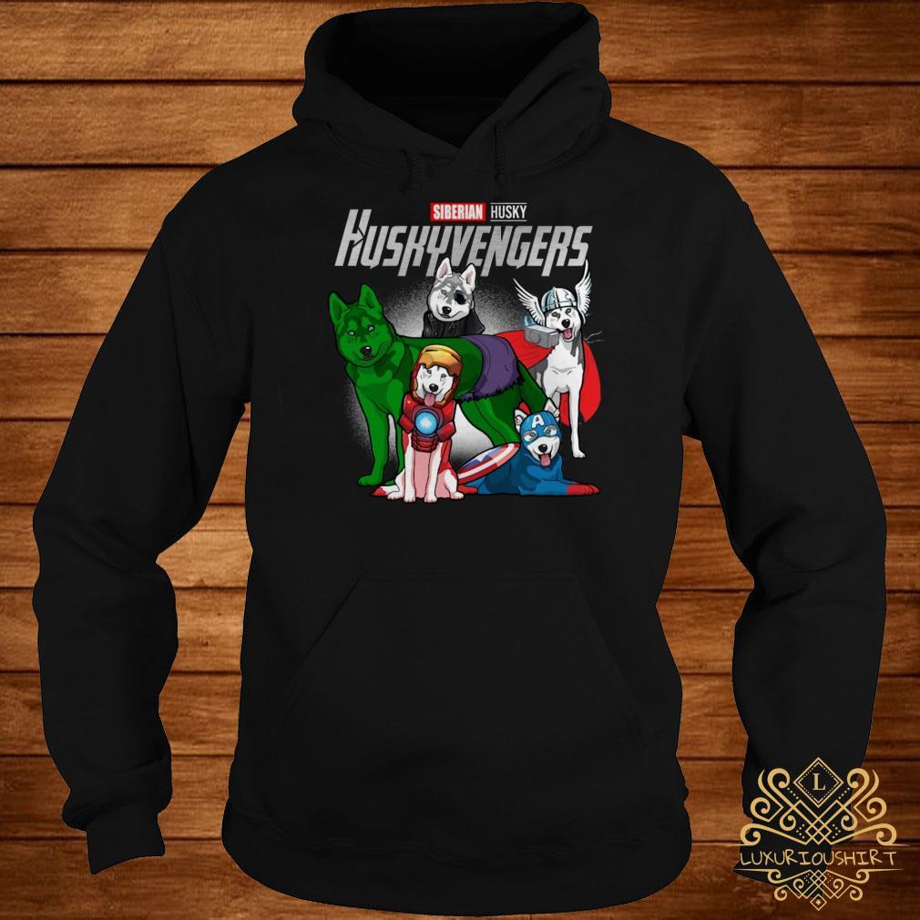 Marvel Siberian Husky Huskyvengers hoodie