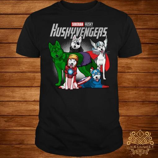 Marvel Siberian Husky Huskyvengers shirt