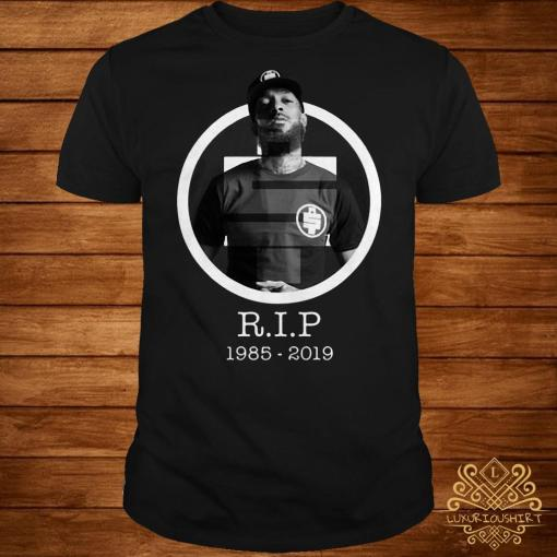 All money in RIP Nipsey Hussle 1985-2019 shirt