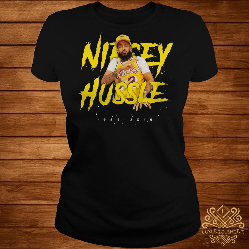 Nipsey Hussle rip 1985-2019 respect him ladies tee