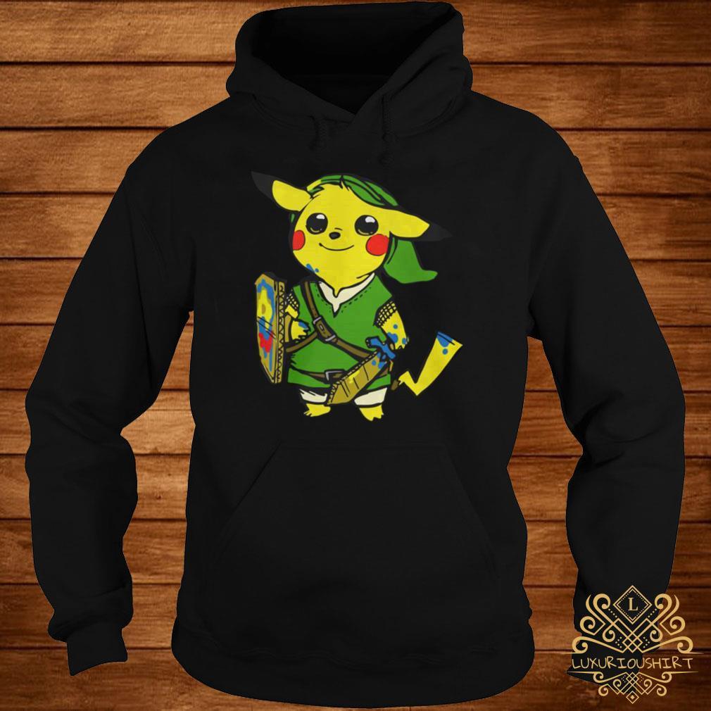 Pikachu link the legend of Zelda hoodie