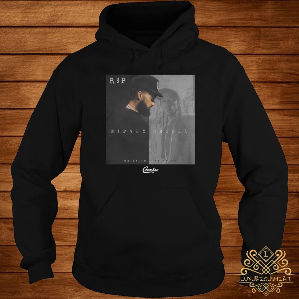 Rip Nipsey Hussle Crenshaw hoodie