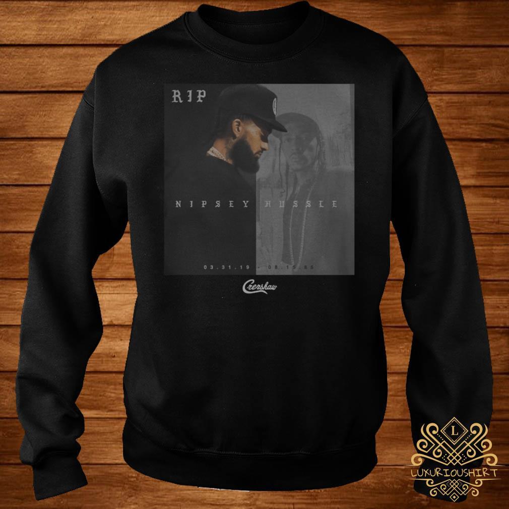 Rip Nipsey Hussle Crenshaw sweater