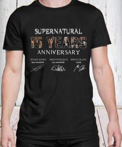 SuperNatural 15 years anniversary shirt