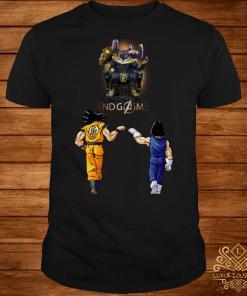 Thanos endgame Goku and Vegeta shirt