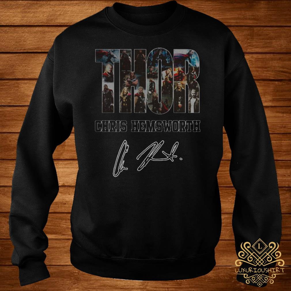 Thor Chris Hemsworth signature sweater