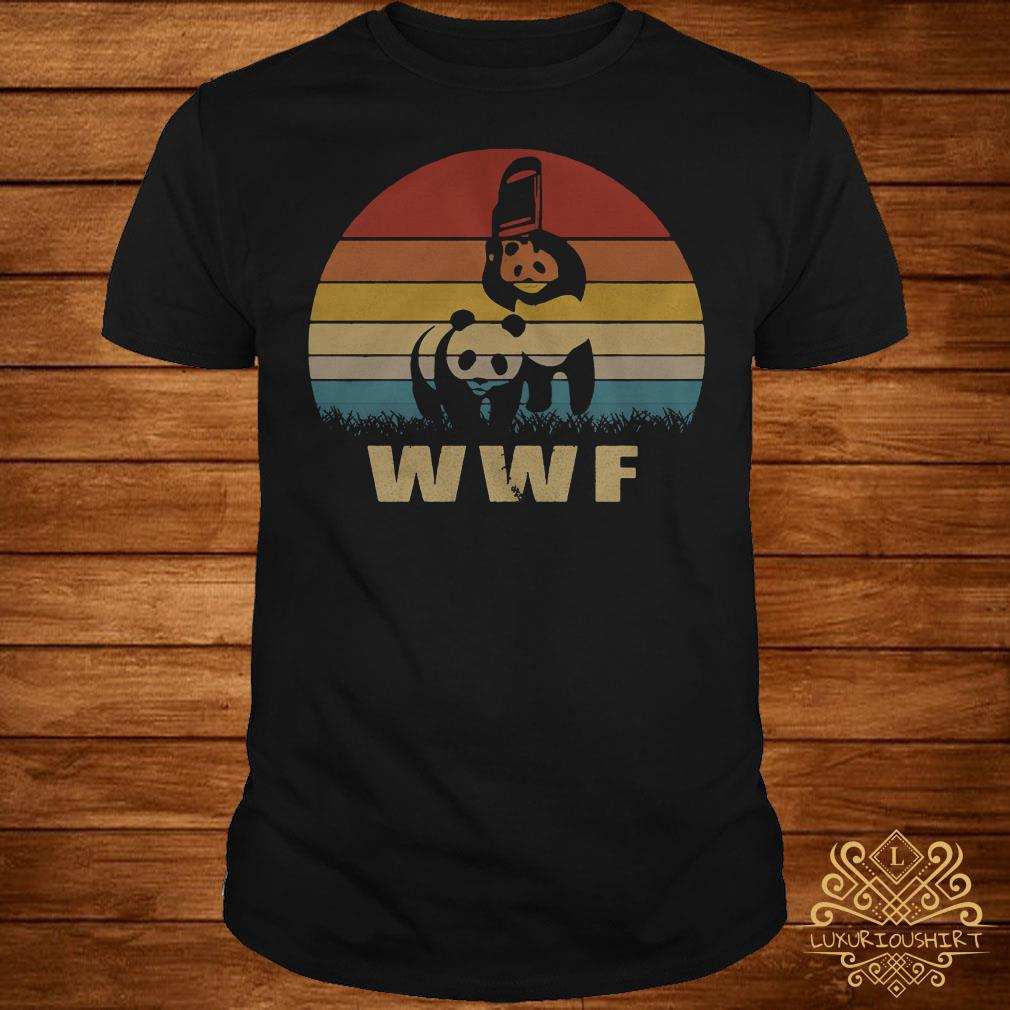 74c4d4c20 The product is already in the wishlist! Browse Wishlist · WWF Panda and  Chair sunset shirt