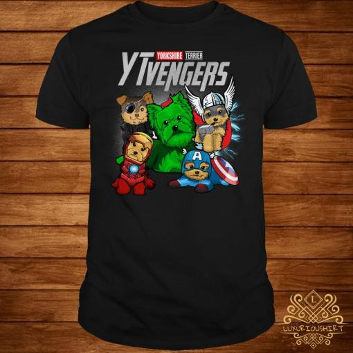 Yorkshire Terrier YTvengers shirt