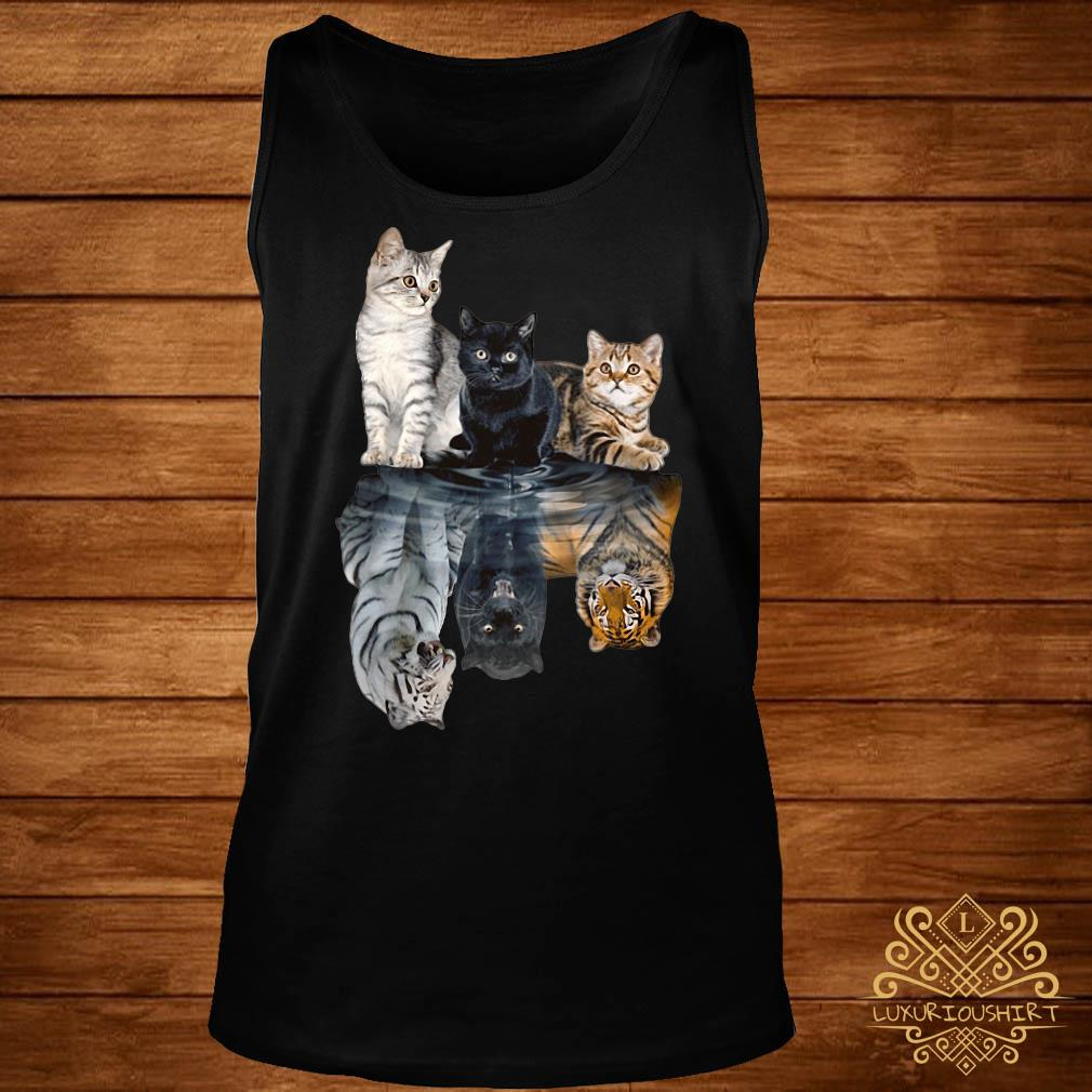 Cats always believe in yourself tank-top