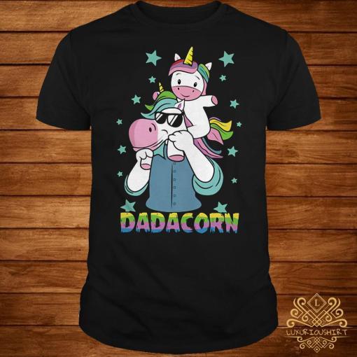 Father's day Unicorn Dadacorn shirt