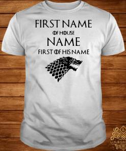 Game of Thrones Jacob of house Williams first of his name shirt