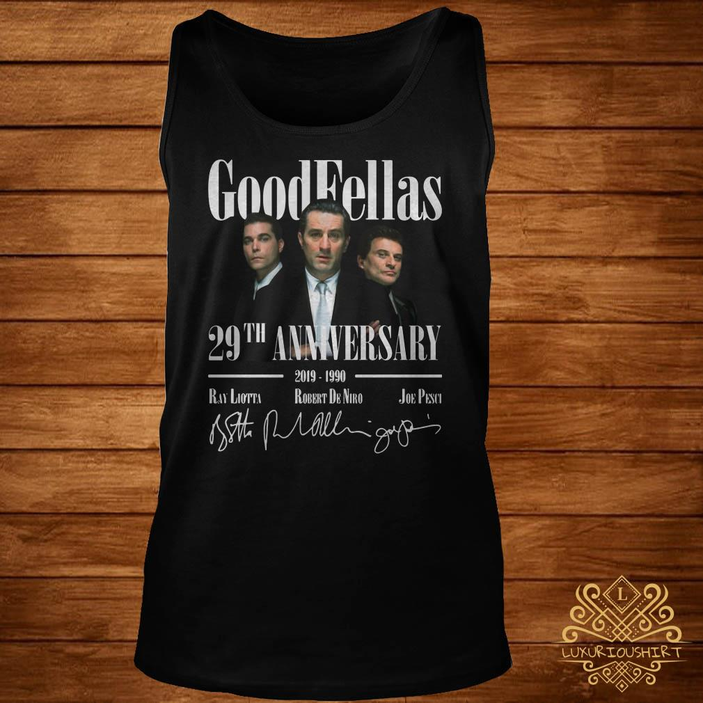 Good Fellas 29Th Anniversary tank-top