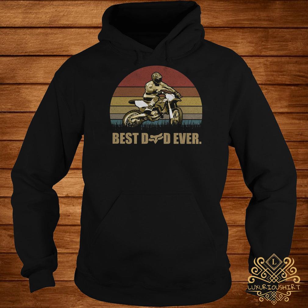 Motor best dad ever vintage hoodie