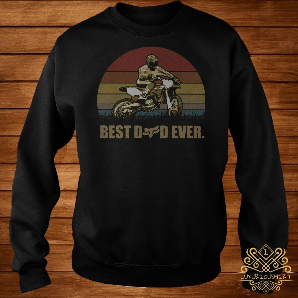 Motor best dad ever vintage sweater